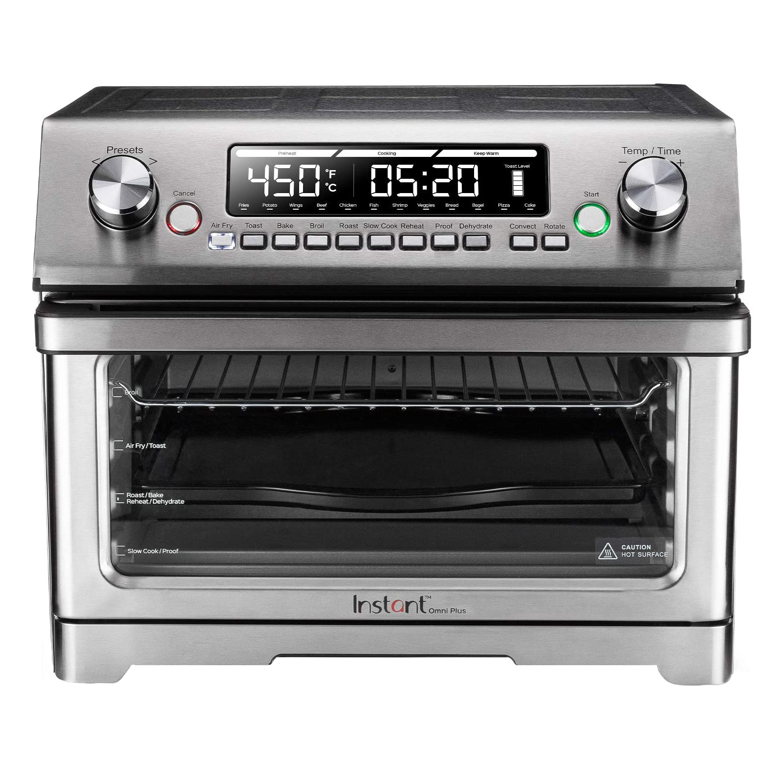 Instant Stainless-Steel Omni Plus Toaster Oven