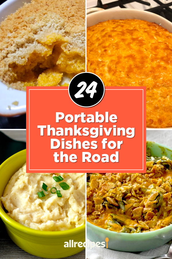 Portable Thanksgiving Dishes for the Road