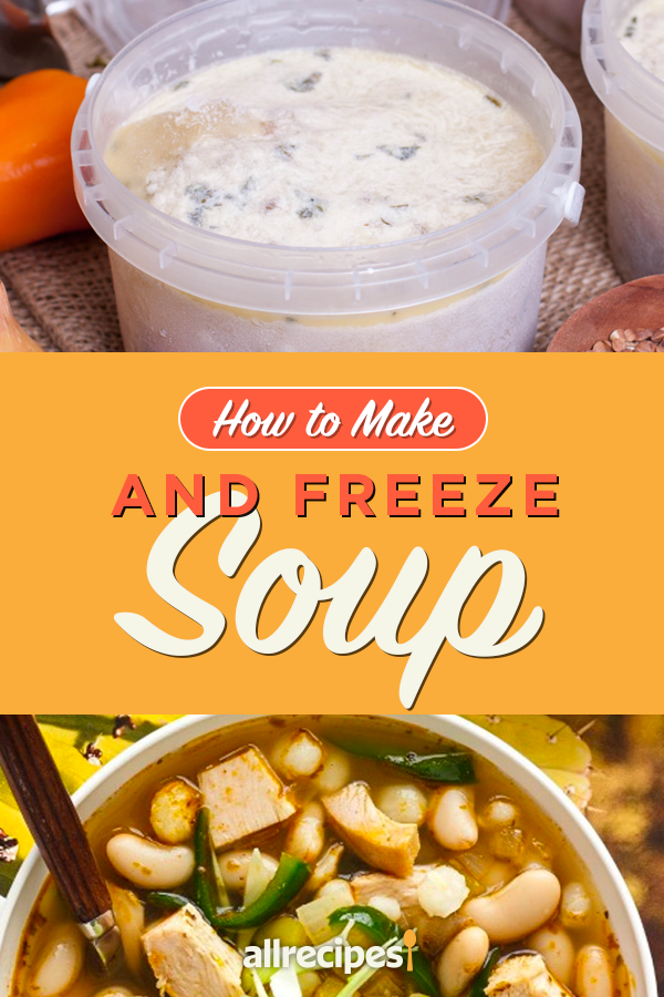 How to Make and Freeze Soup