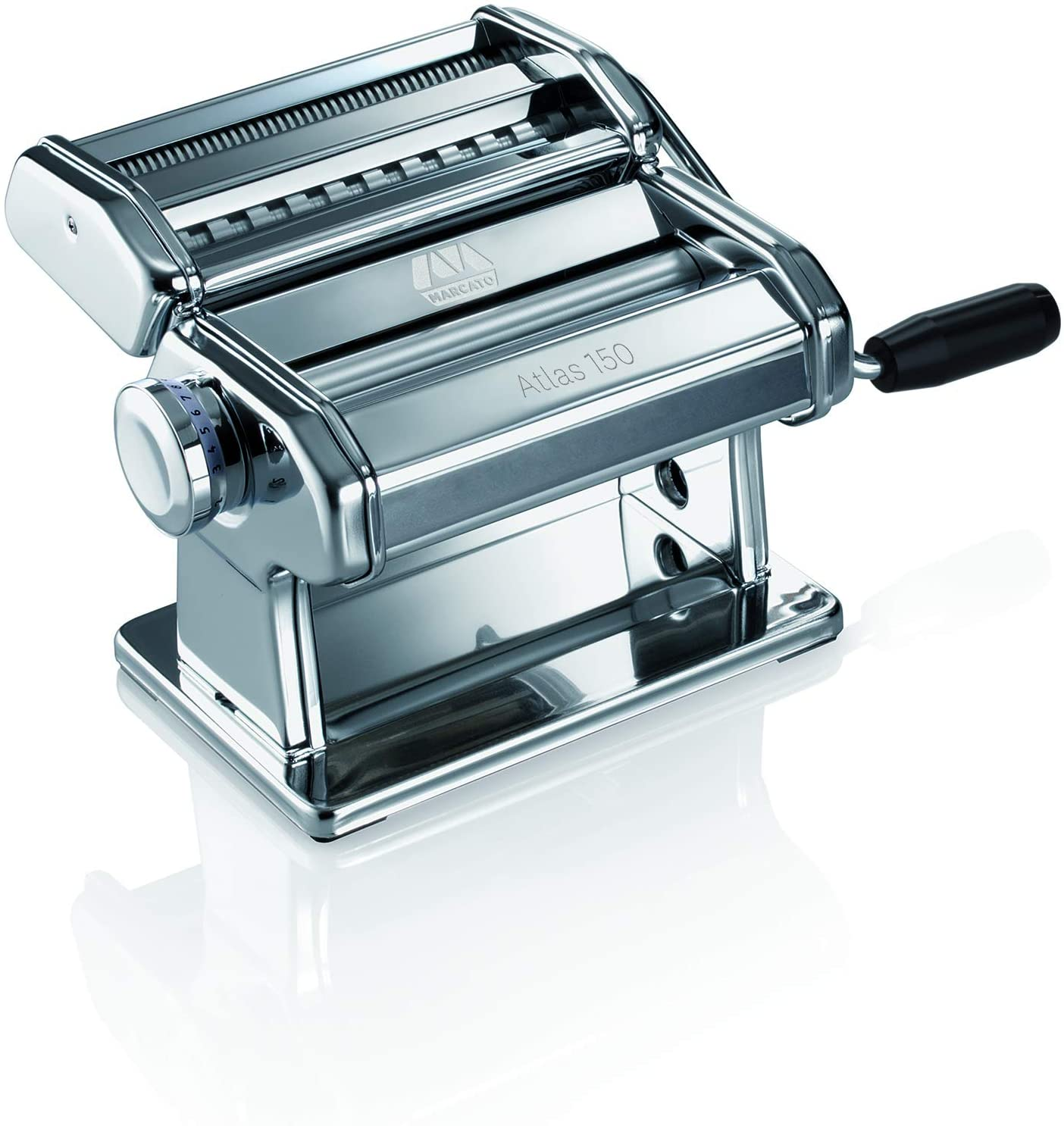 Stainless steel Pasta Maker on white background