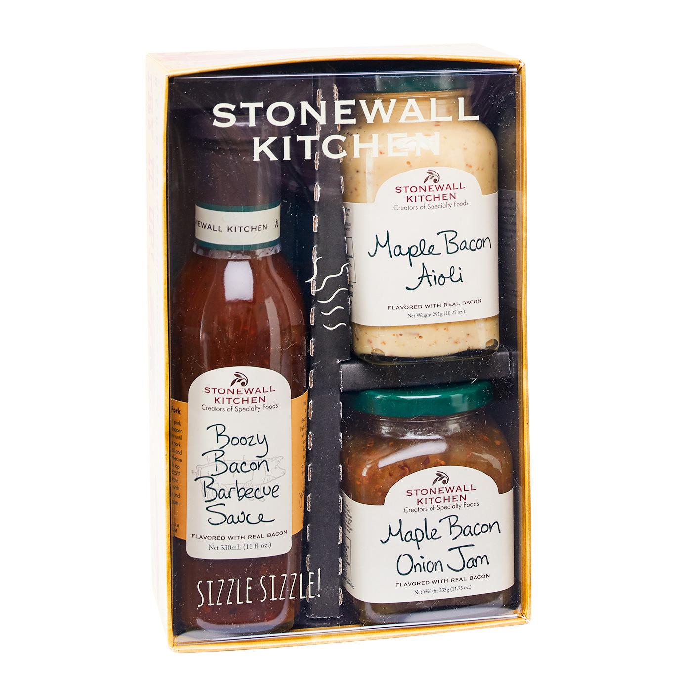 Stonewall Kitchen Bacon Gift Set in a box