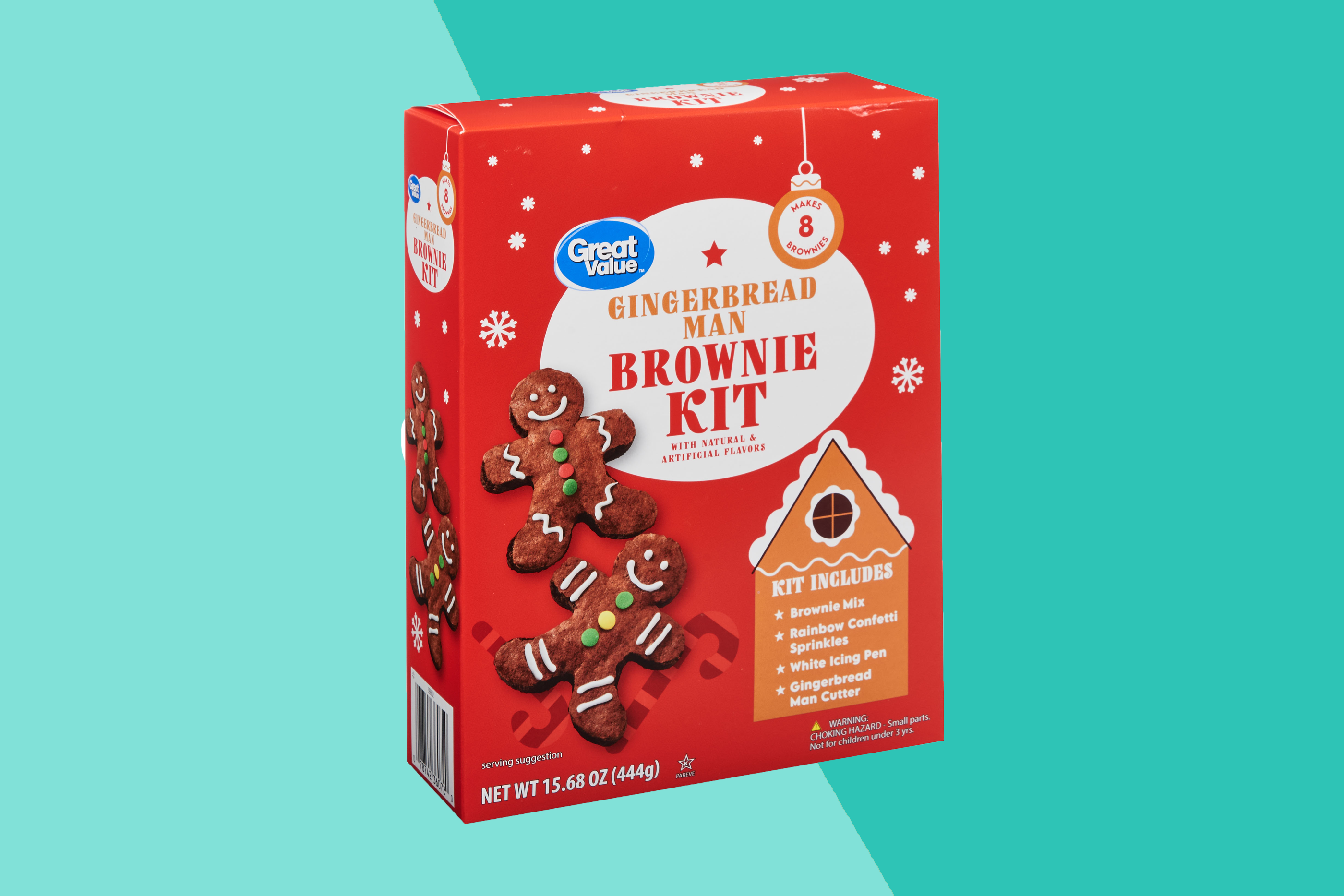 Just one of the options from Walmart's holiday baking line