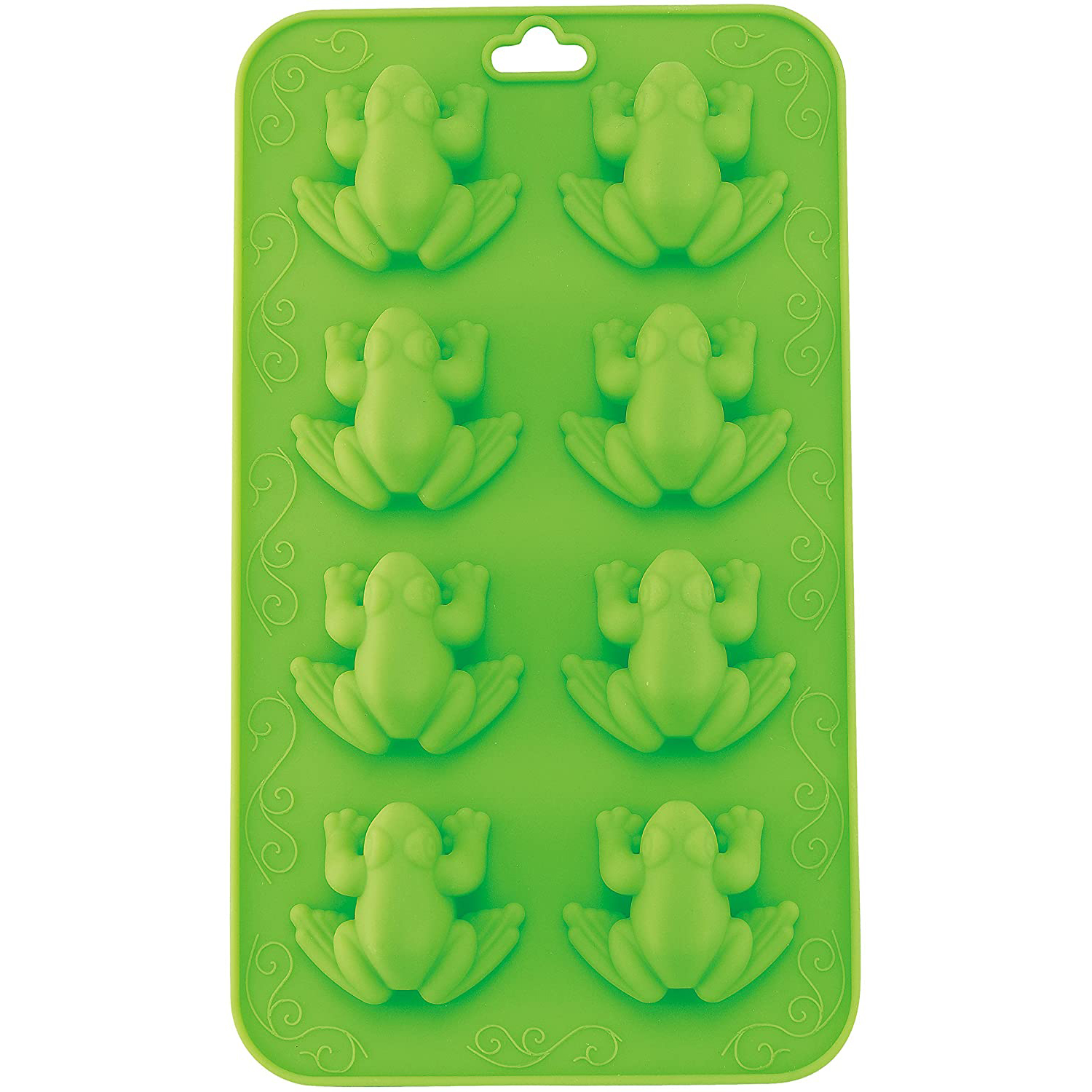 Frog Chocolate Mold in green