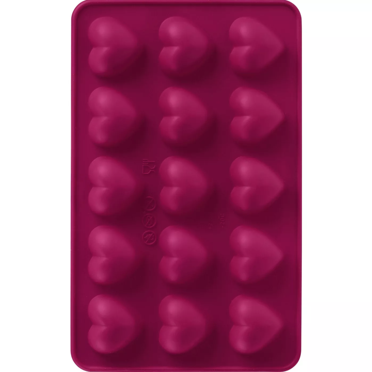 Trudeau Heart Molds in red
