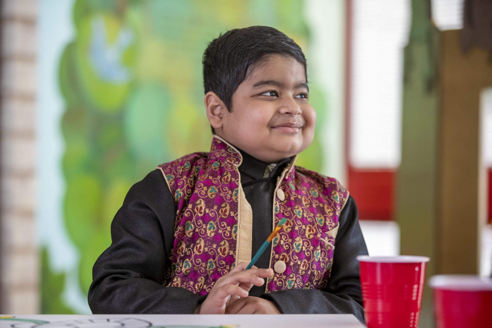 Allrecipes Cook to Follow: St. Jude patient Shaurya