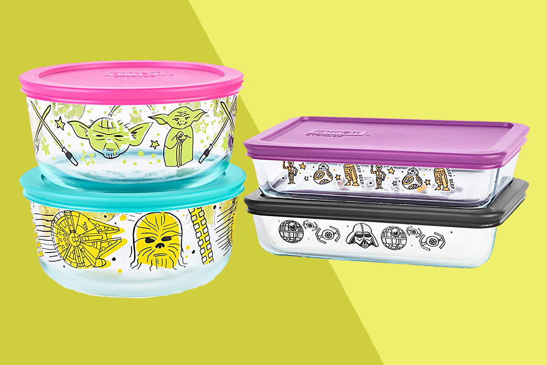 pyrex star wars containers