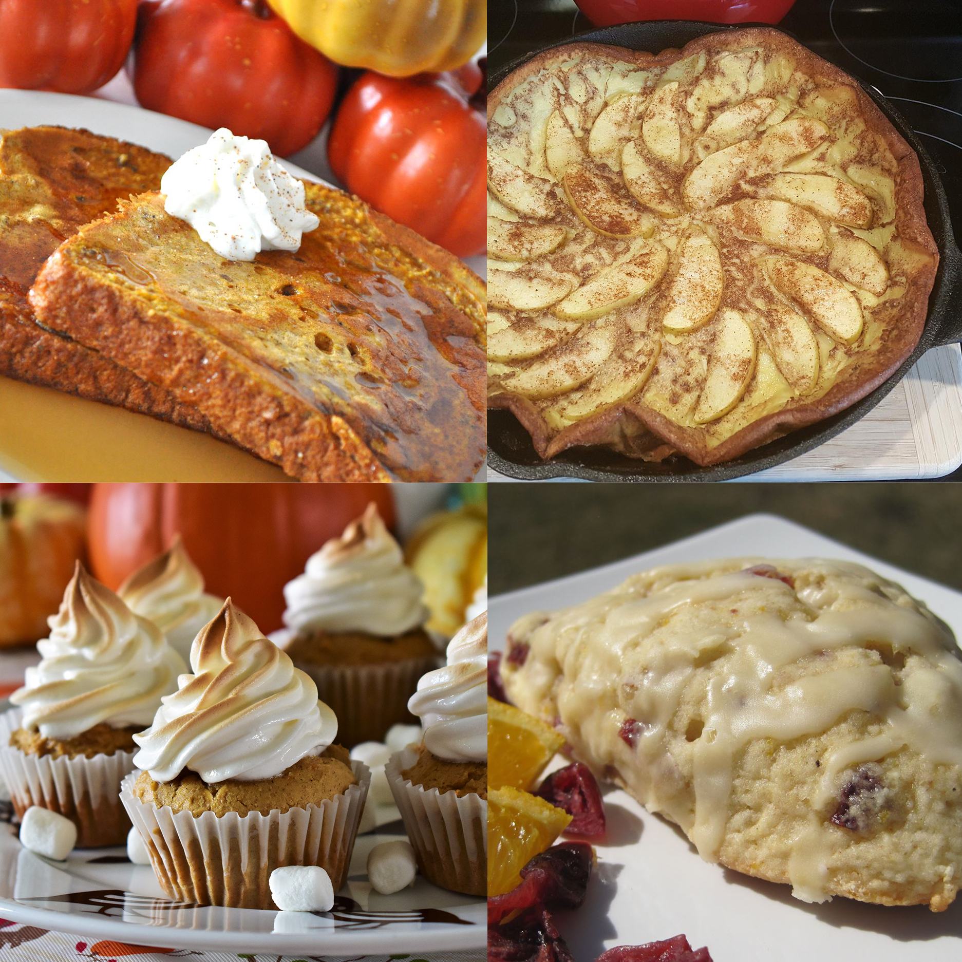 thanksgiving brunch sweets image