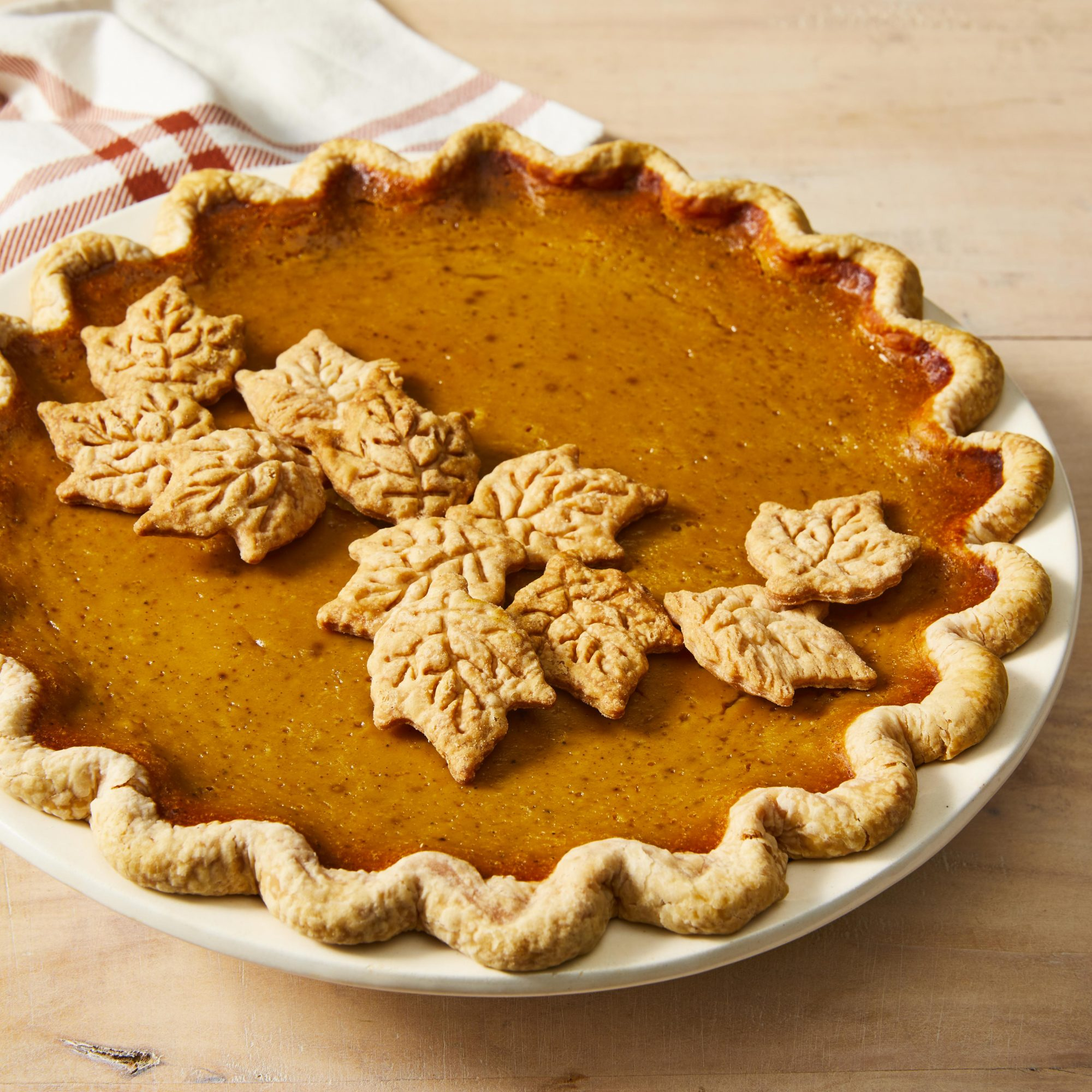 Jen's Maple Pumpkin Pie