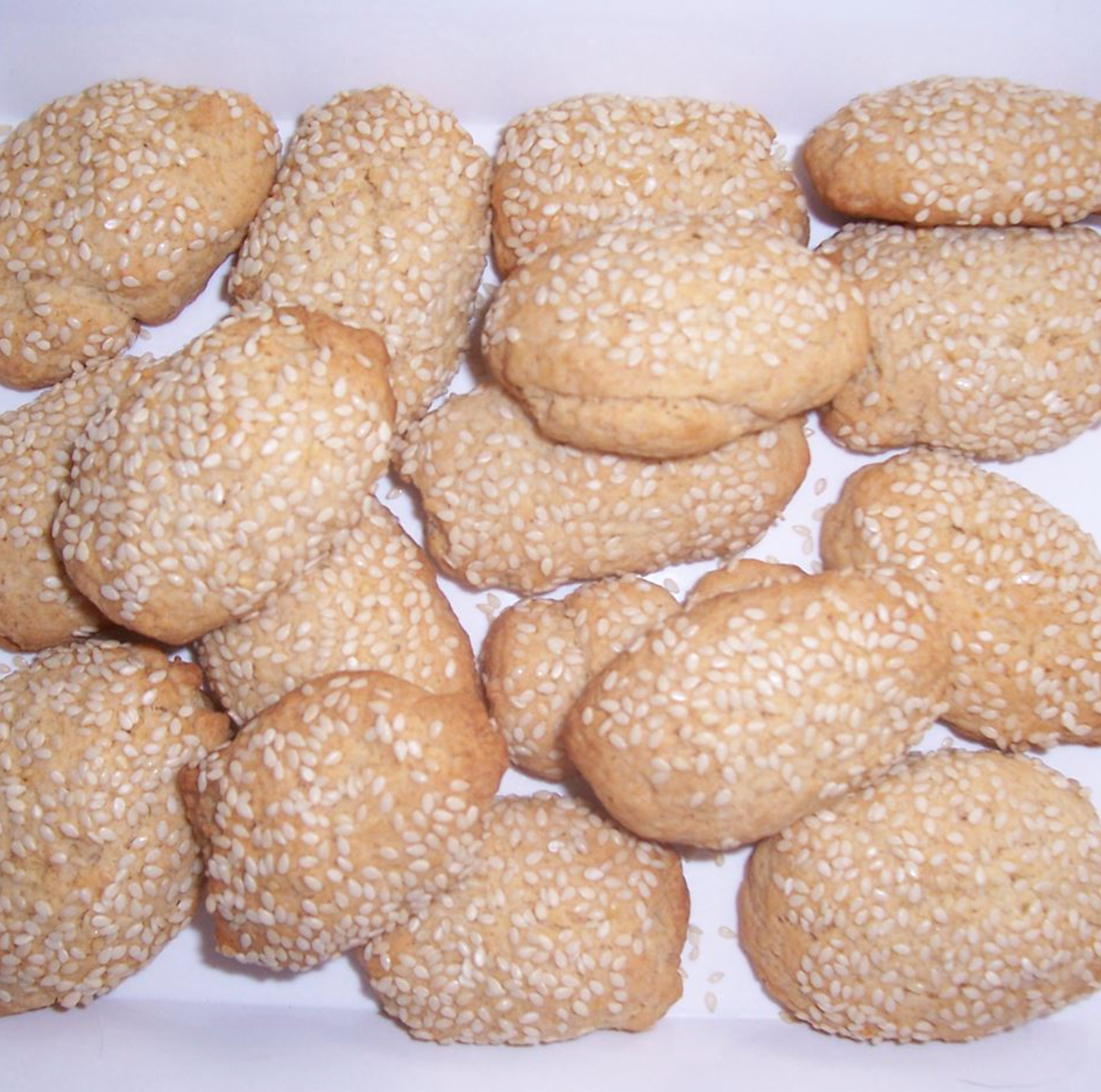 Biscotti Regina are small Italian cookies coated in sesame seeds. This recipe is perfect for people who love a salty-sweet flavor combination.