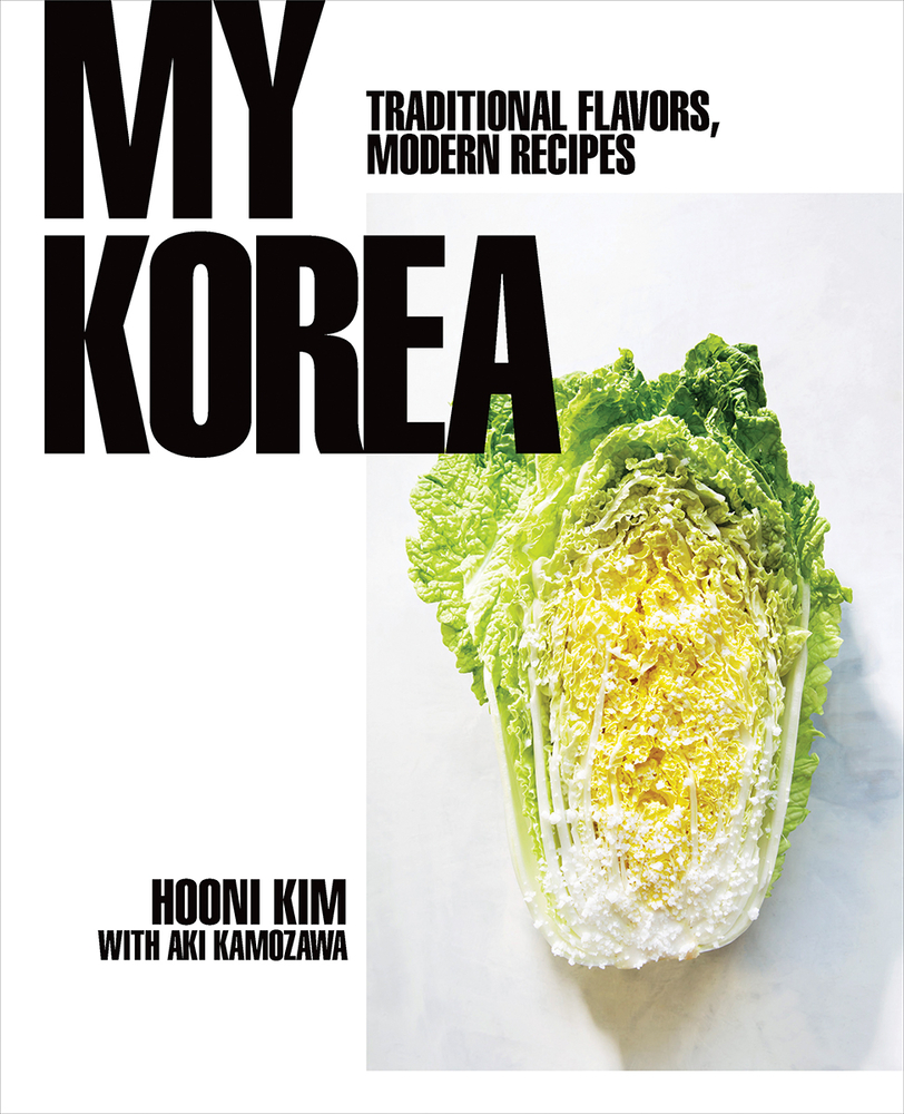 book cover for My Korea: Traditional Flavors, Modern Recipes