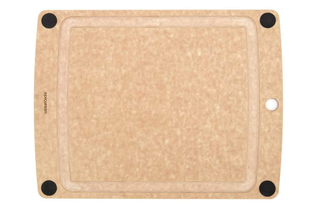 Epicurean All-In-One Cutting Board with Non-Slip Feet and Juice Groove
