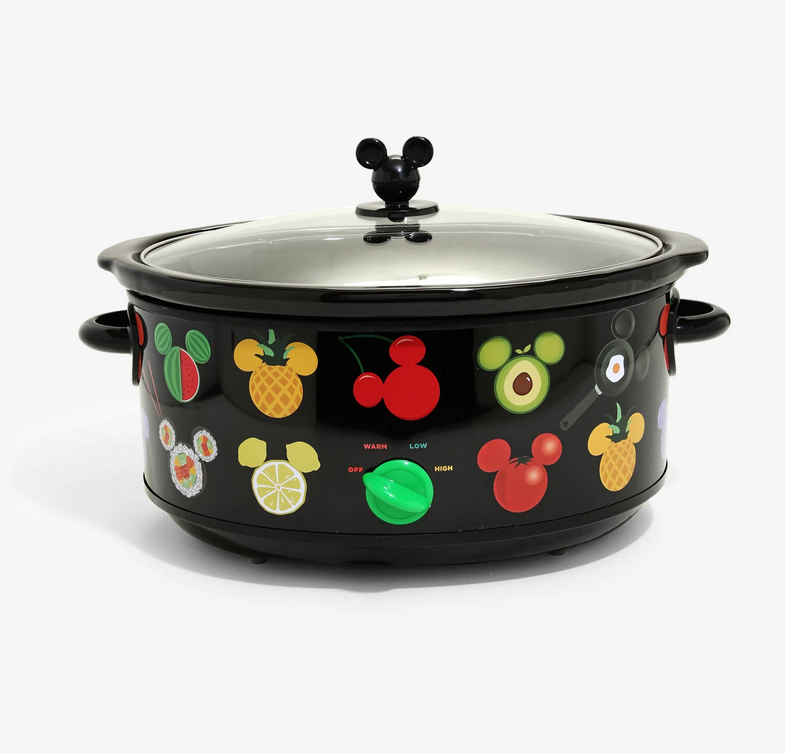 mickey shapes slow cooker