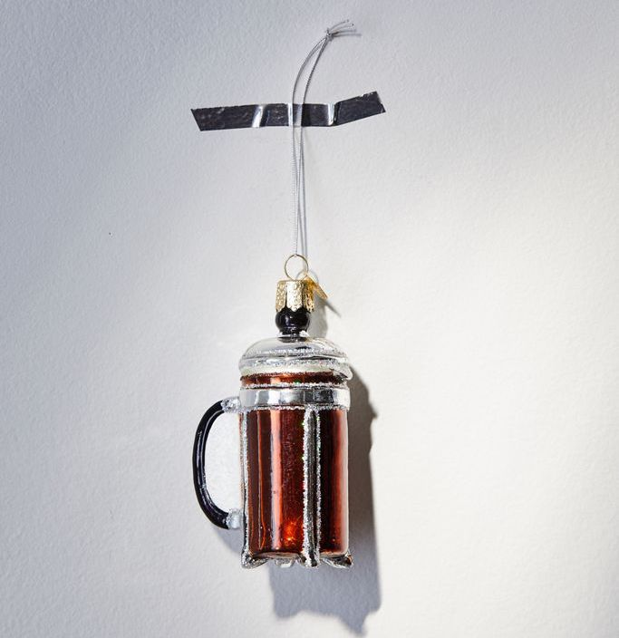 french press ornament urban outfitters