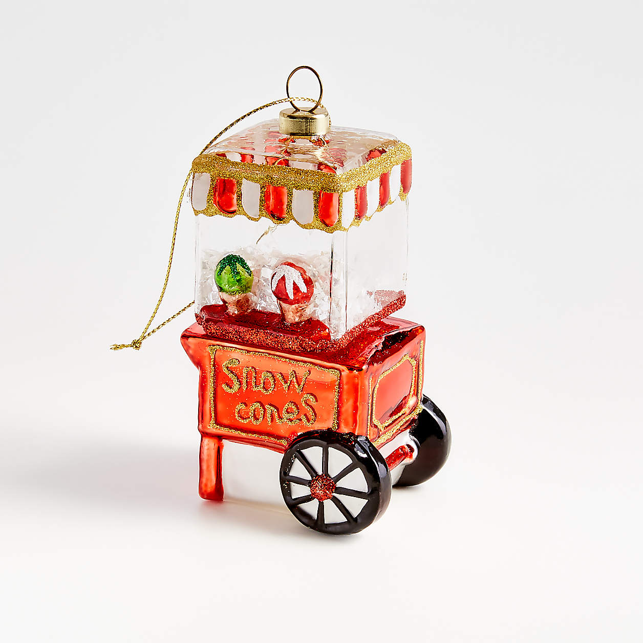snow cone machine ornament
