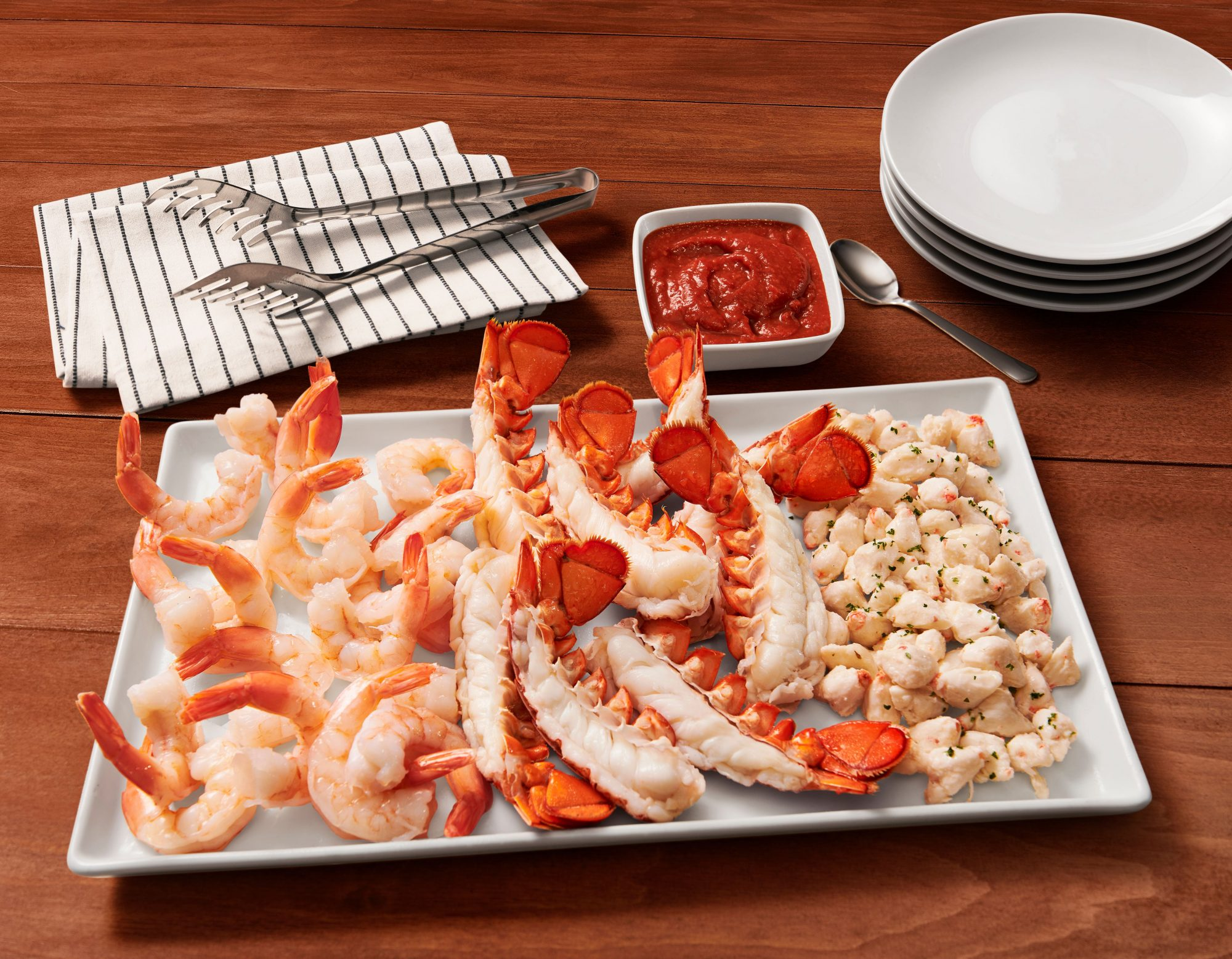 red lobster holiday party platters