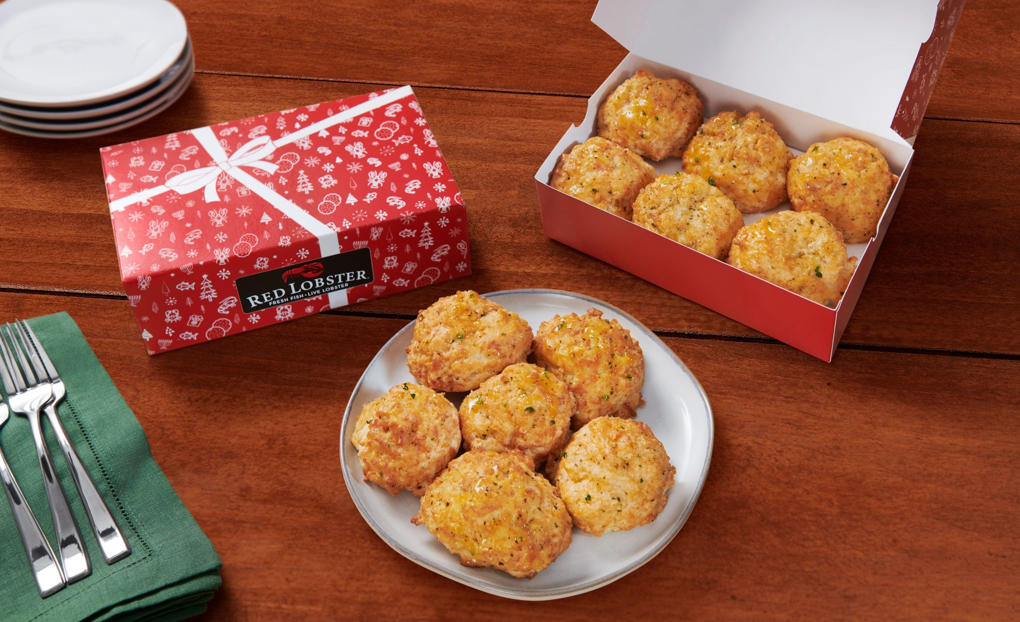 red lobster cheddar bay biscuit gift box