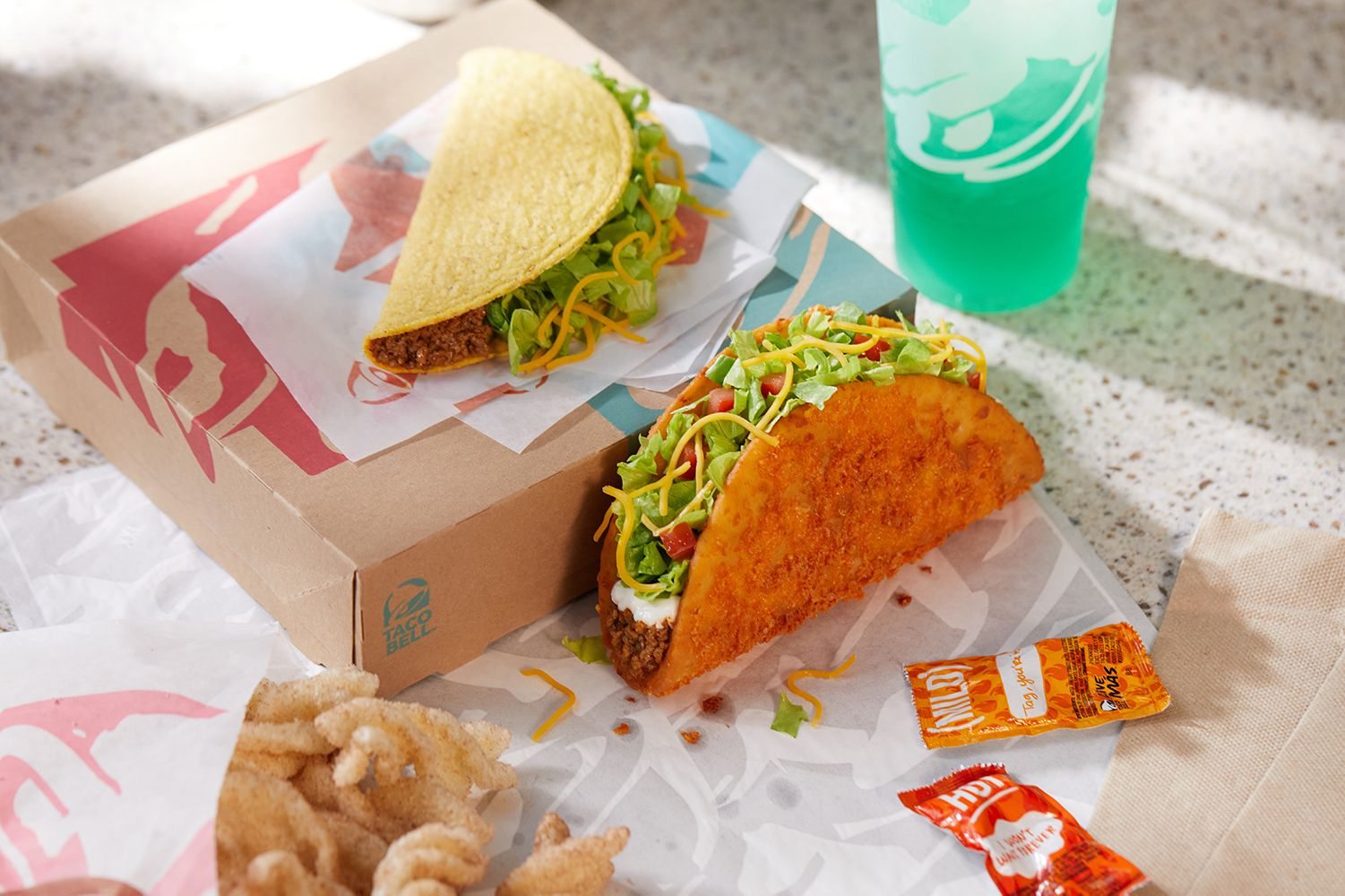 the toasted cheddar chalupa is back
