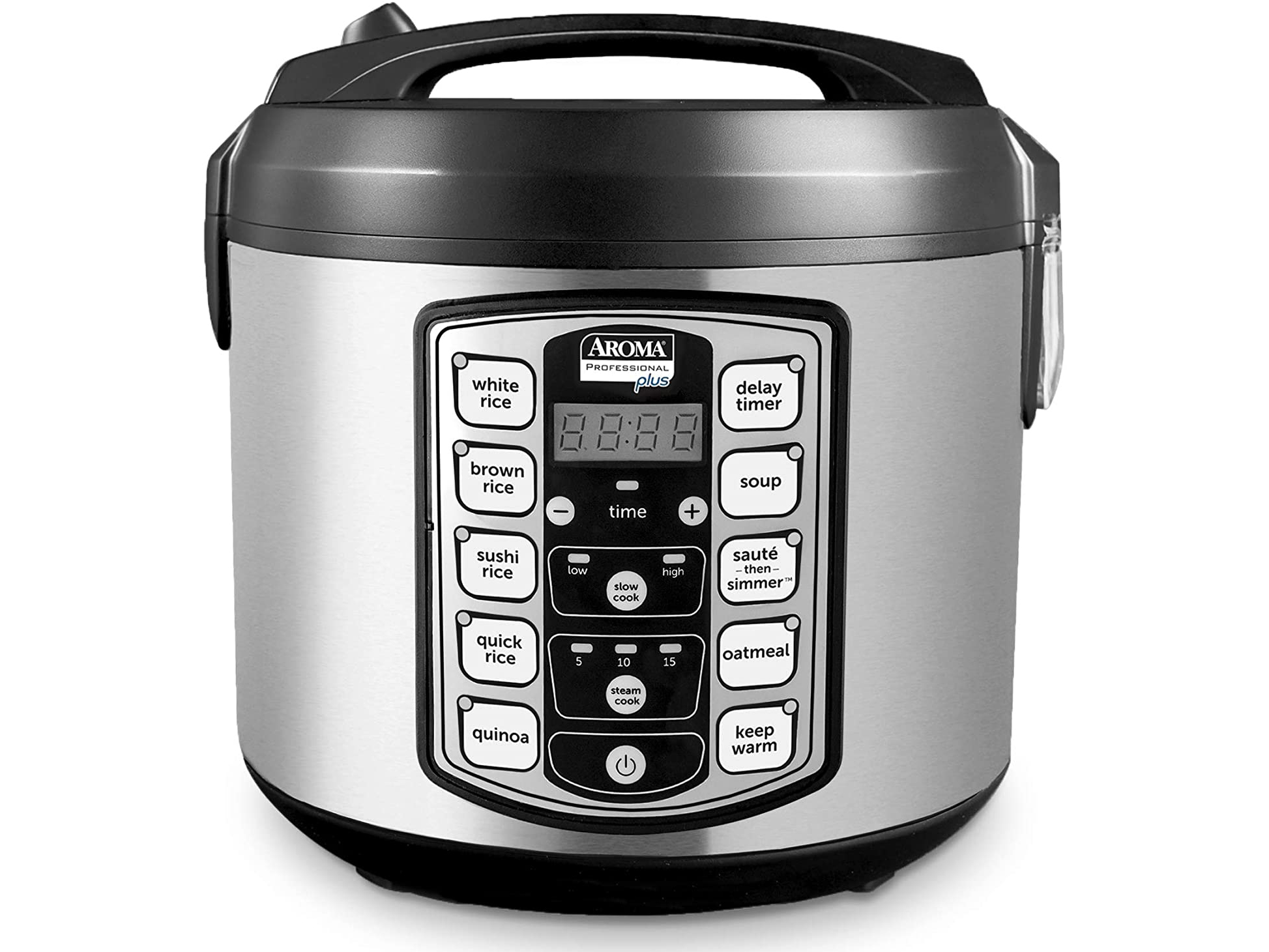 Aroma Housewares Digital Grain Cooker on a white background