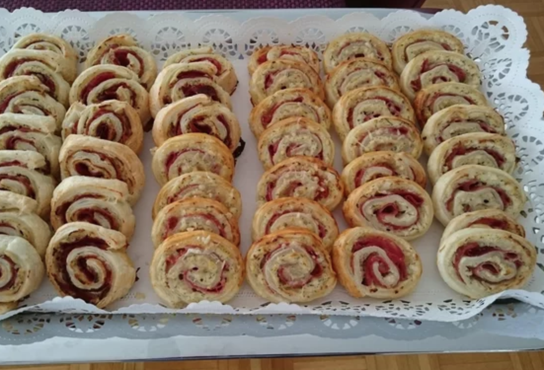 """""""I love using puff pastry for any kind of finger food and always have a package in the freezer so I can whip up something delicious in a jiffy,"""" says recipe creator superchef. """"Great for parties, with a glass of wine, or just to snack on."""""""