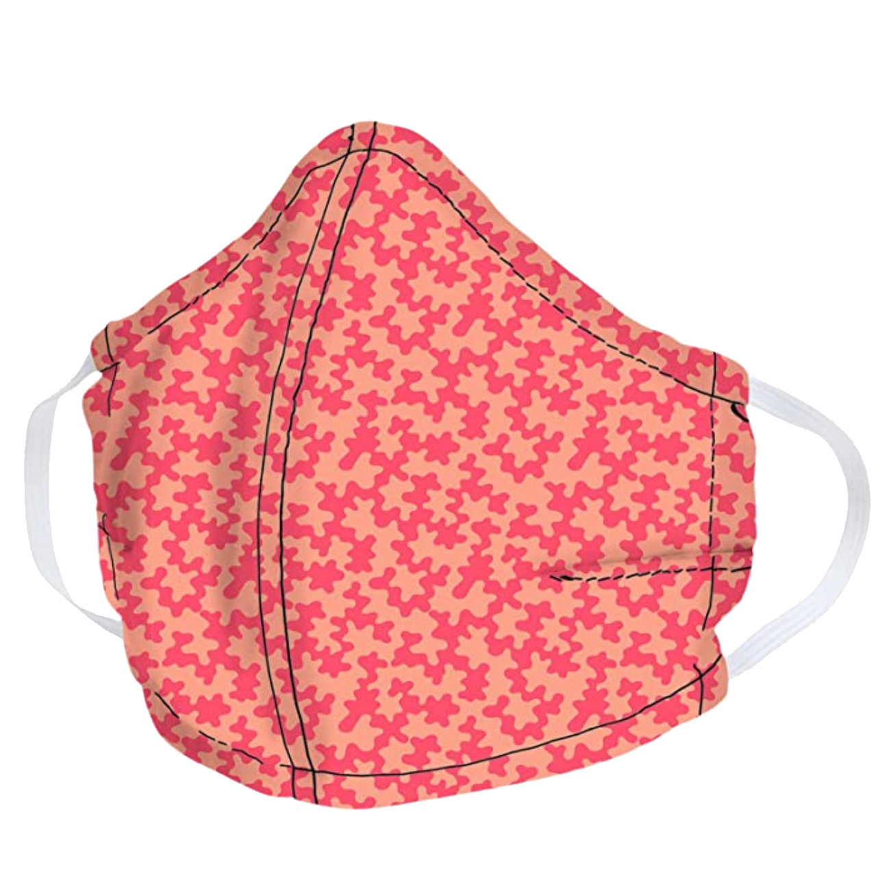 Vera Bradley Cotton Face Mask - Abstract Cloud Coral