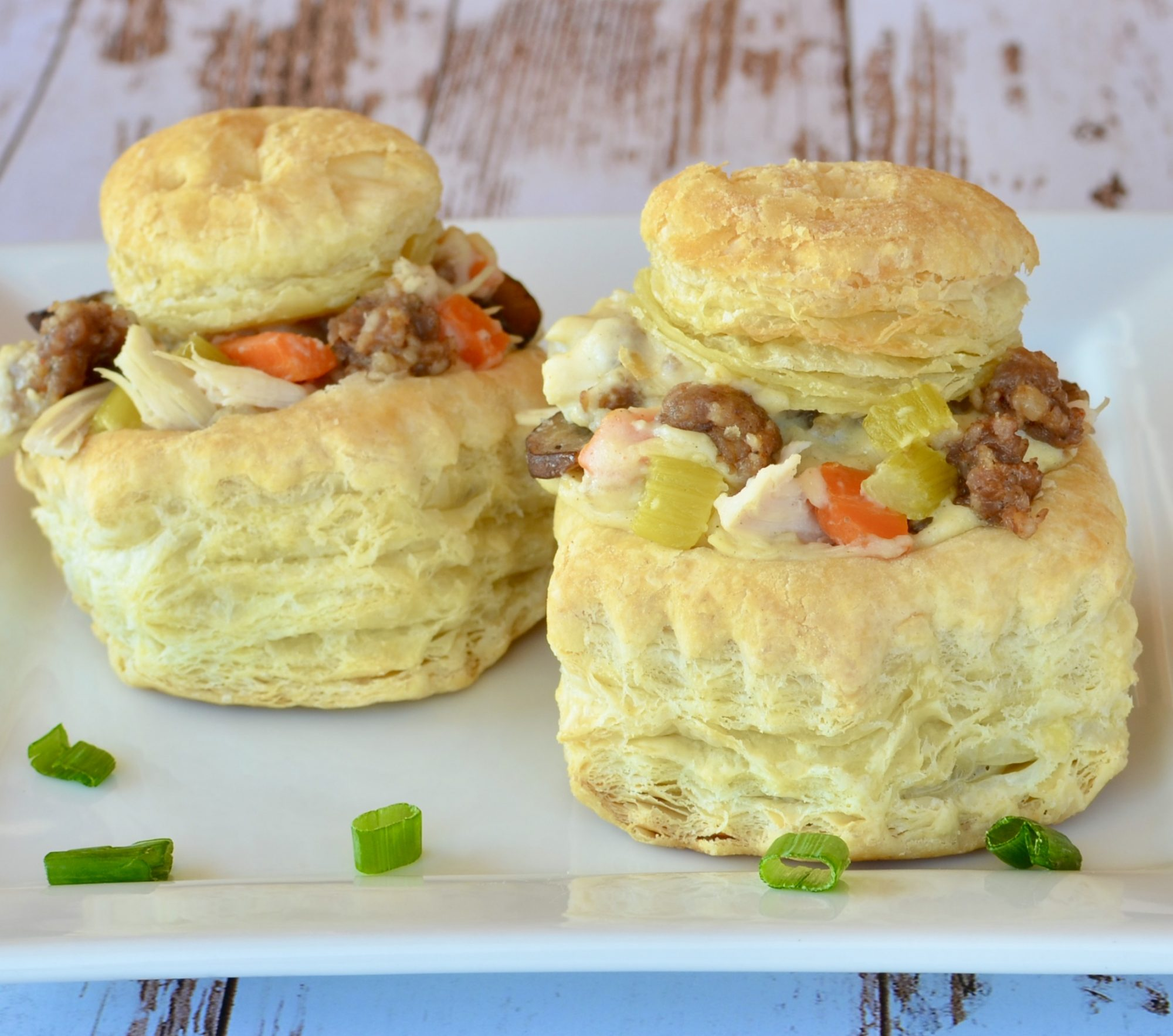 """How cute are these miniature pot pies? Reviewer Sandra Garthsays this """"excellent recipe"""" is """"definitely a keeper!"""""""