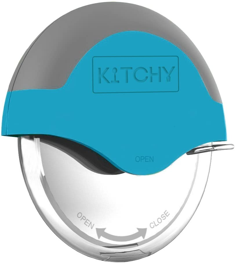 Kitchy Pizza Cutter Wheel with Protective Blade Guard