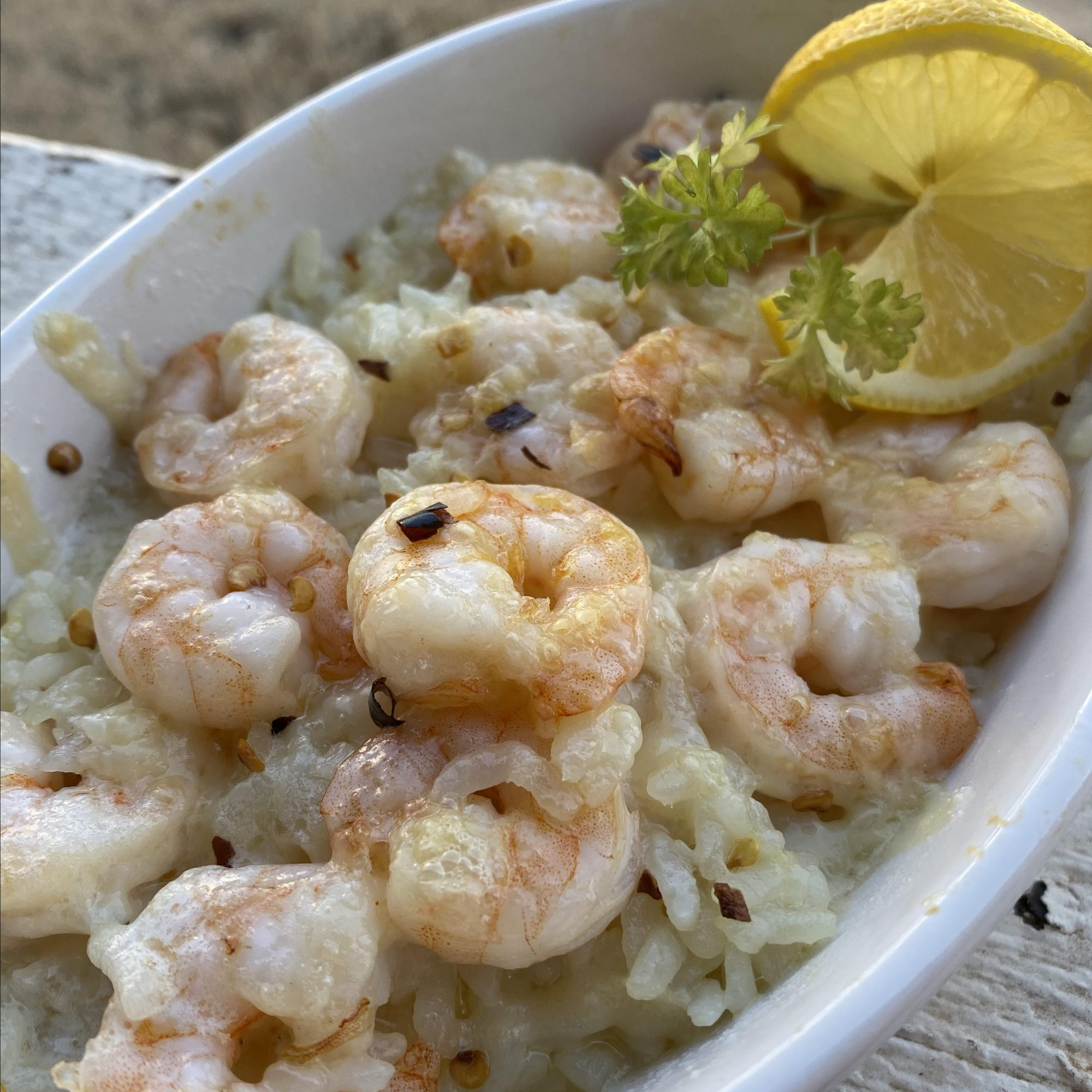 Instant Pot® Shrimp Scampi Risotto