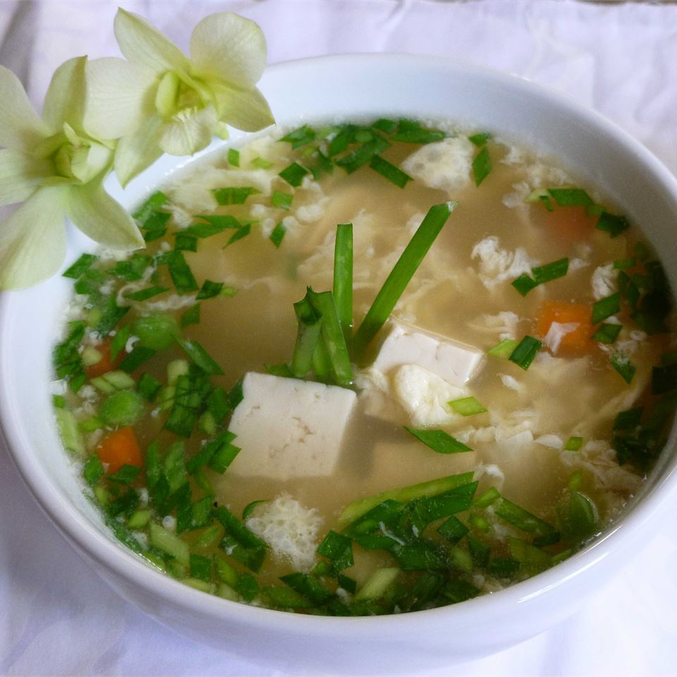 Restaurant Style Egg Drop Soup