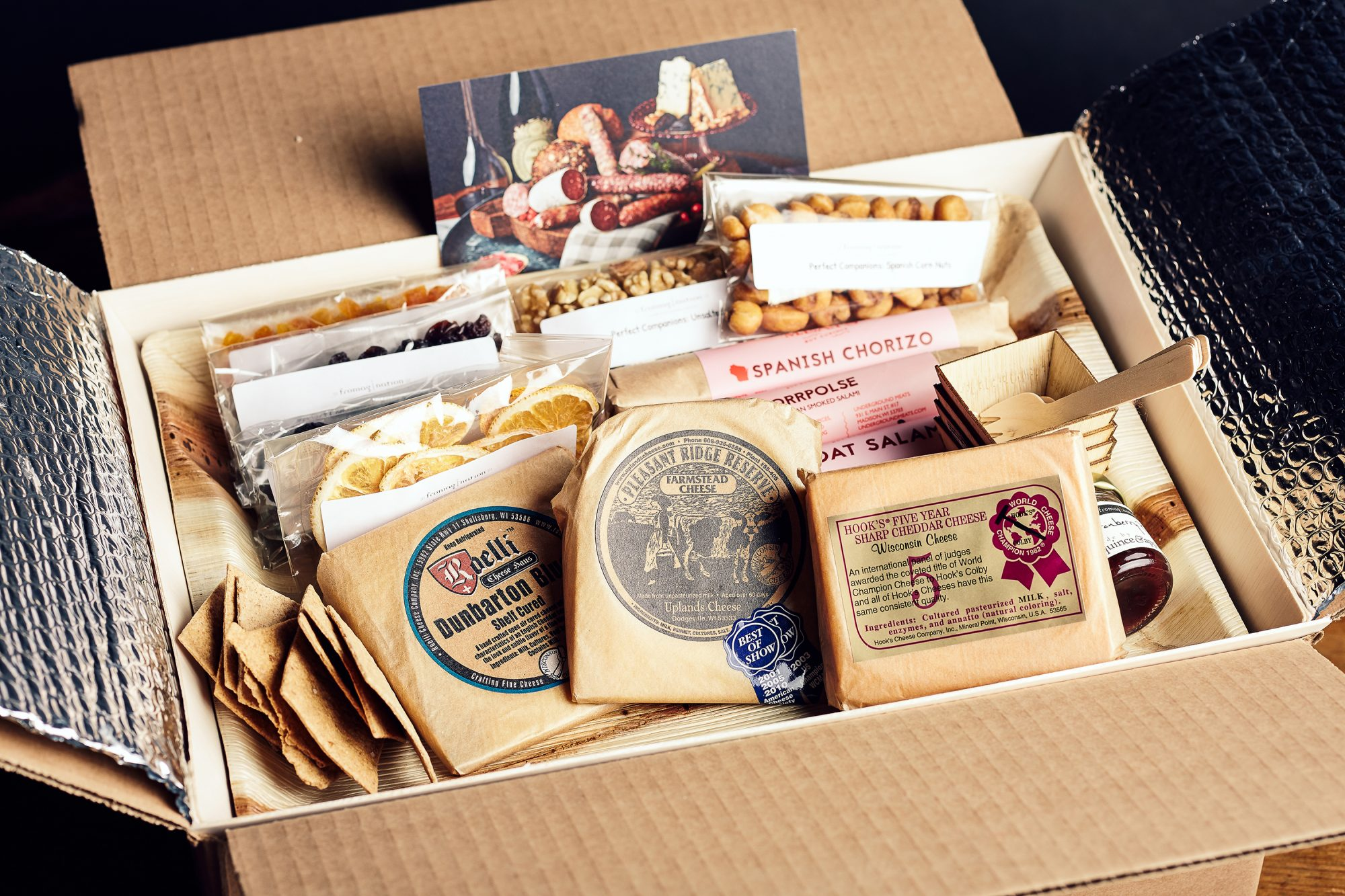 Wisconsin social distancing cheese kit
