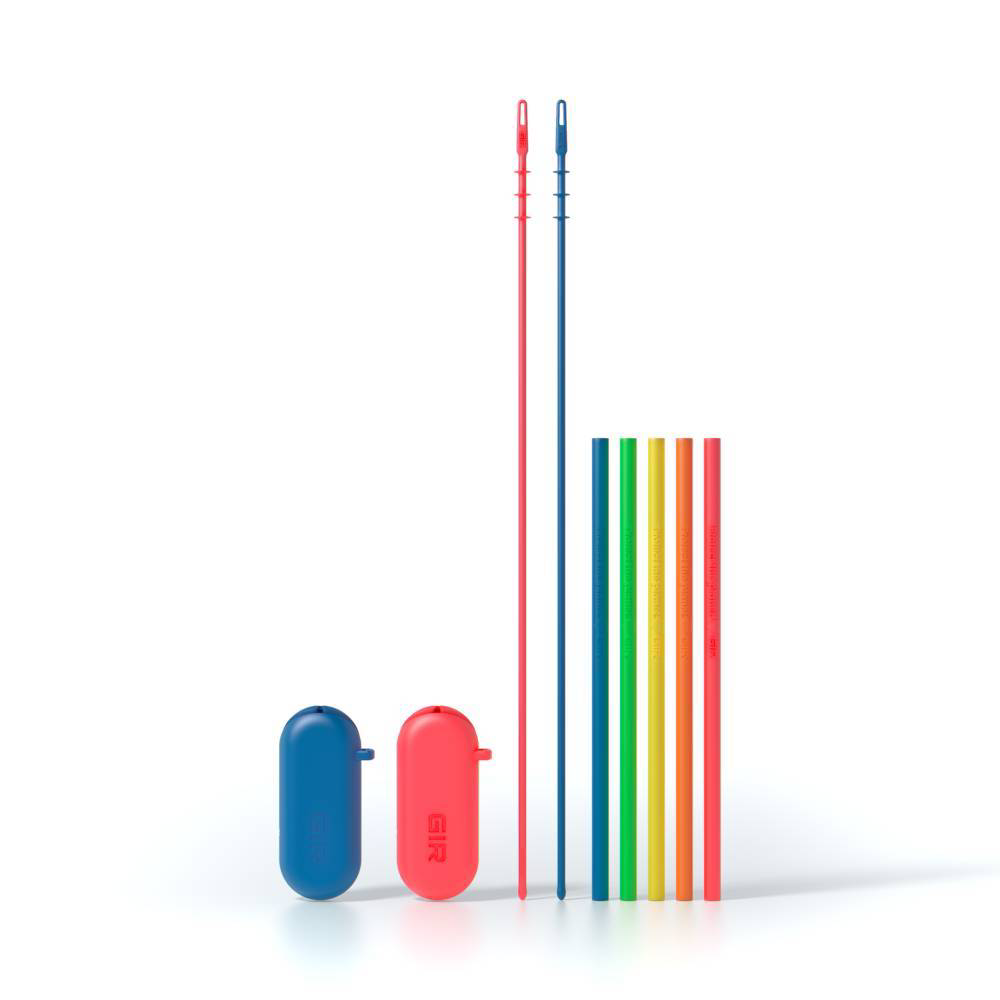 GIR: Get It Right 5pk Standard Silicone Straw Electric