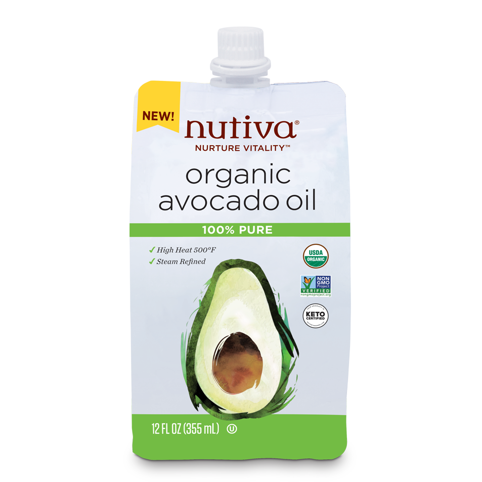 Nutiva Organic Steam-Refined Avocado Oil Pouch