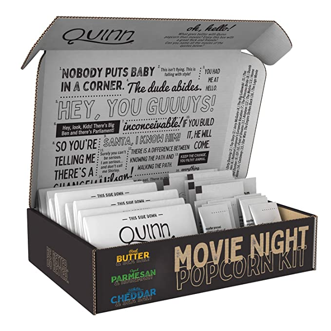 A Poppin' Movie Night