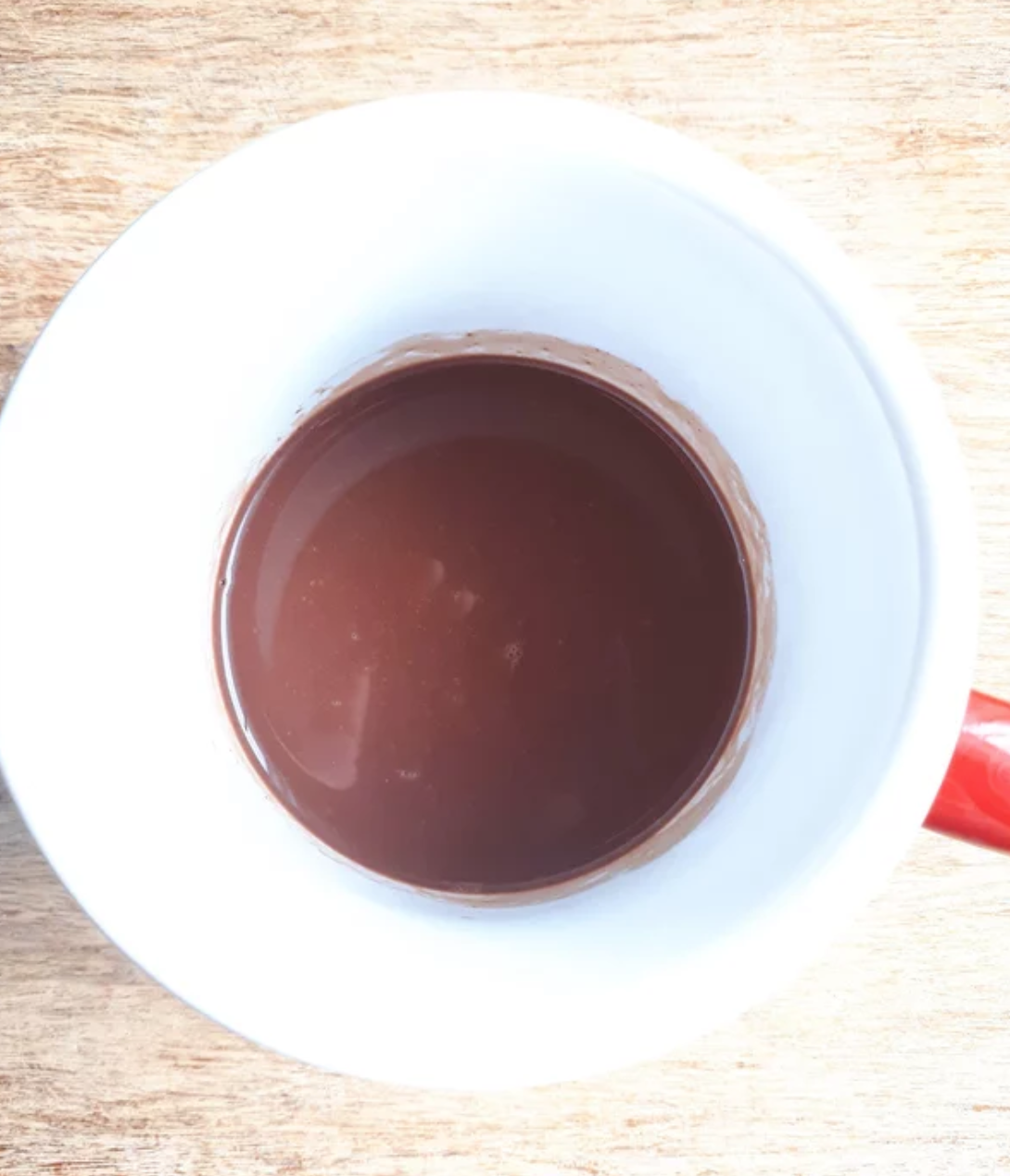 Maple syrup gives this hot chocolate and unexpected seasonal flavor. This recipe calls for fat-free milk, but you can use any kind of milk you have on hand.