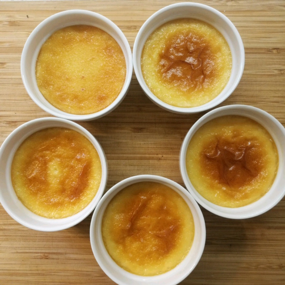 Maple Syrup Custard Cups