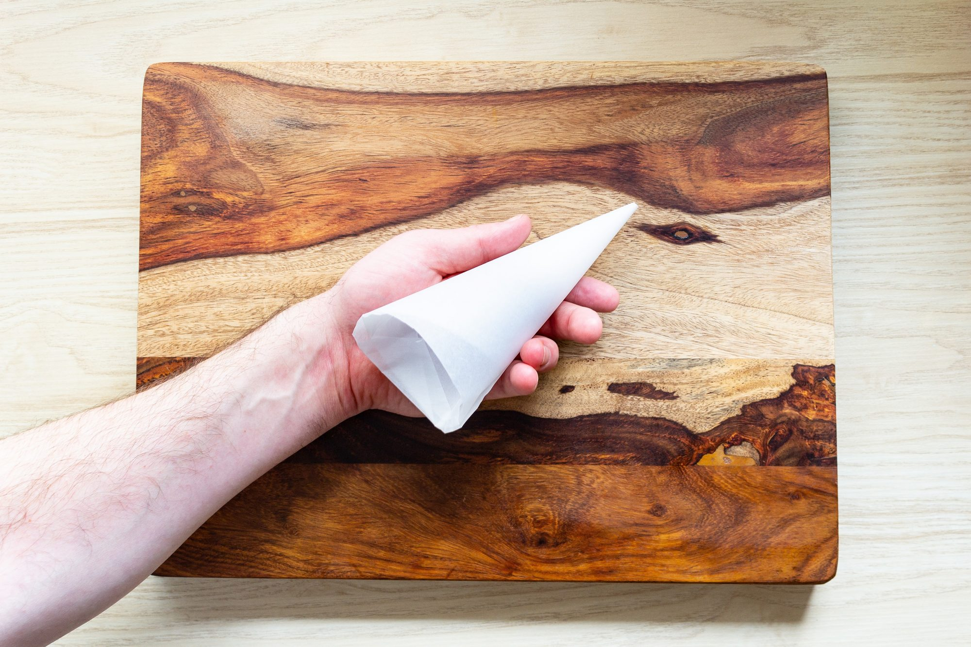 parchment paper piping bag