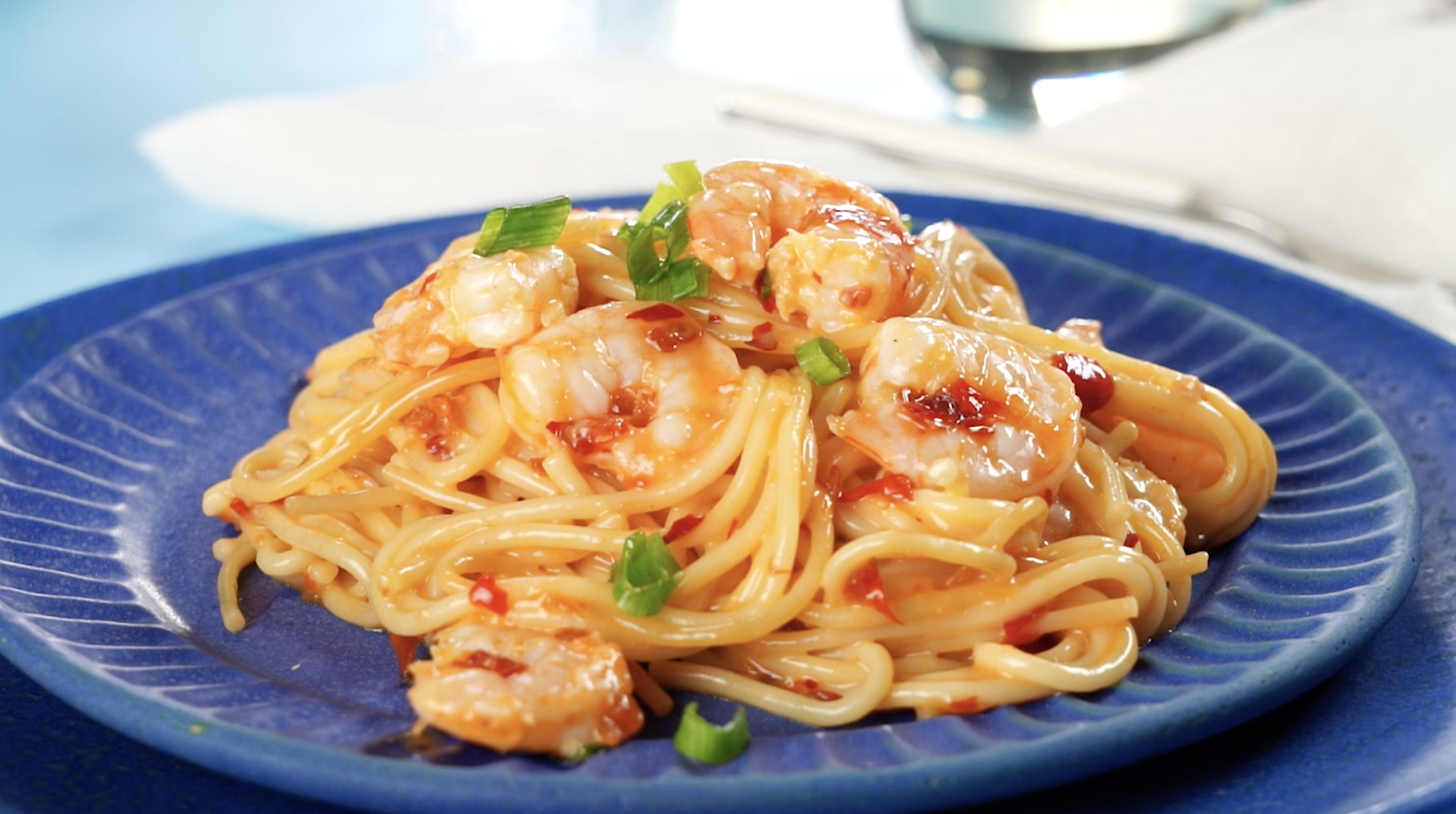 Instant Pot® Bang Bang Shrimp Pasta