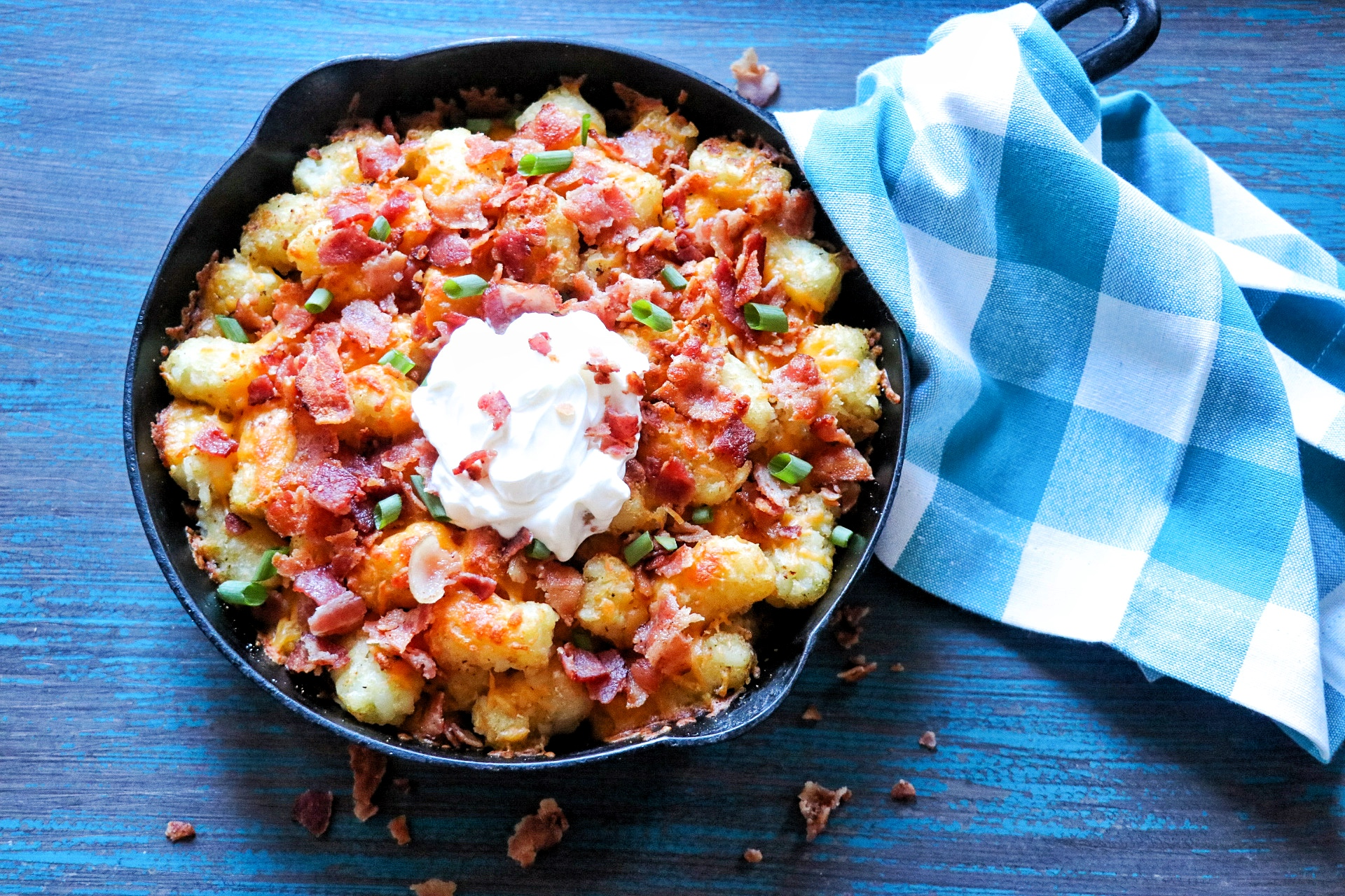 Cheesy Bacon Tater Tots®