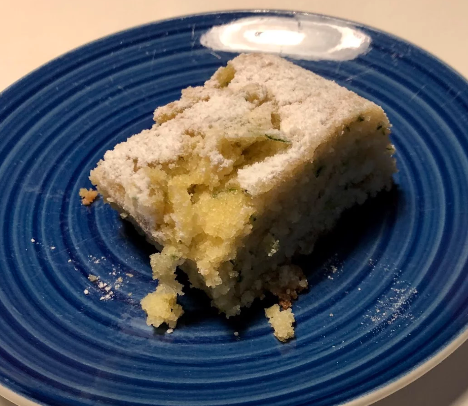 Put your excess zucchini to good use with this moist citrus-packed sheet cake. The easy four-ingredient frosting — made with cream cheese, butter, lemon extract, and powdered sugar — brings the whole thing together.