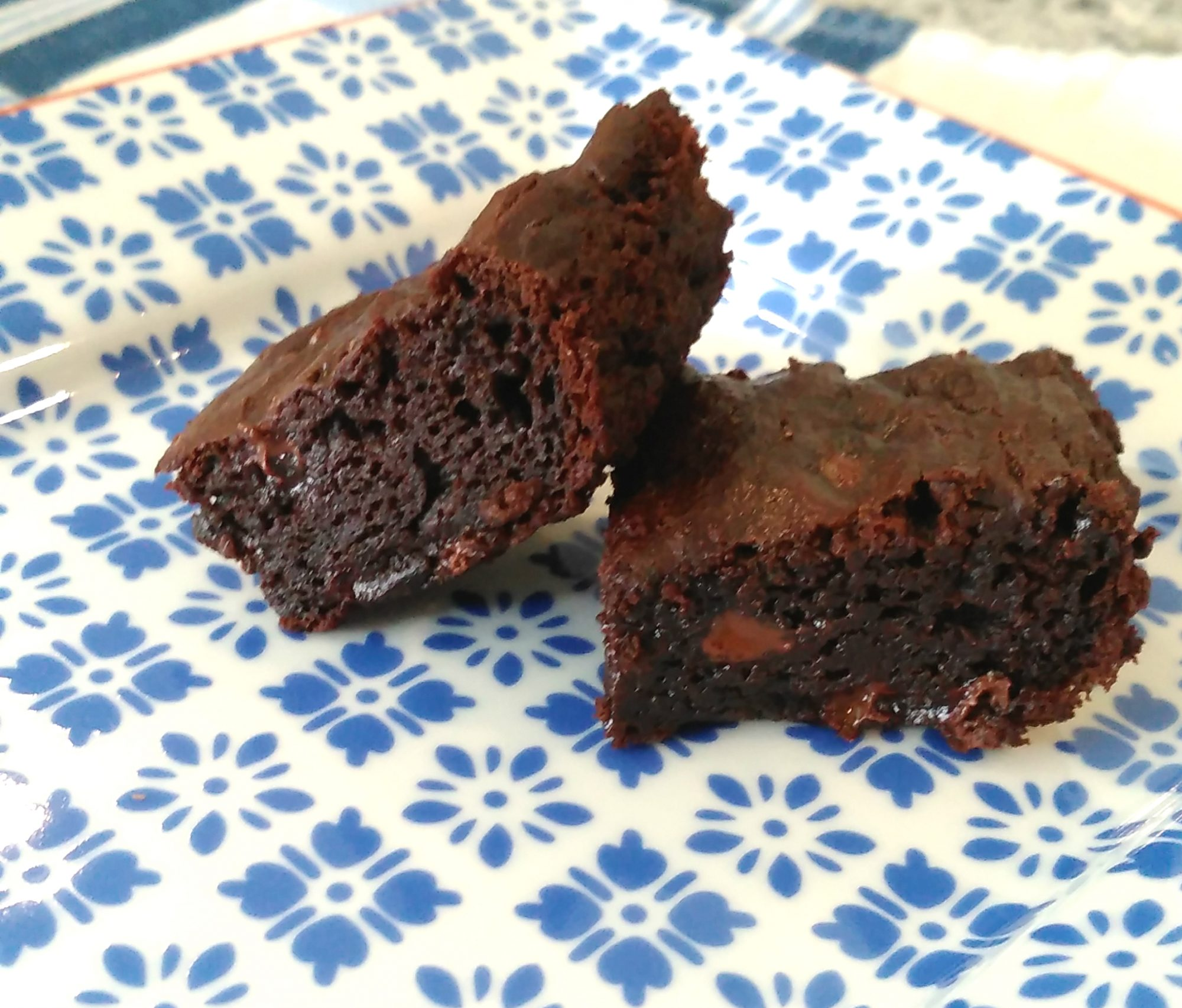 Rich and Gooey Avocado Brownies