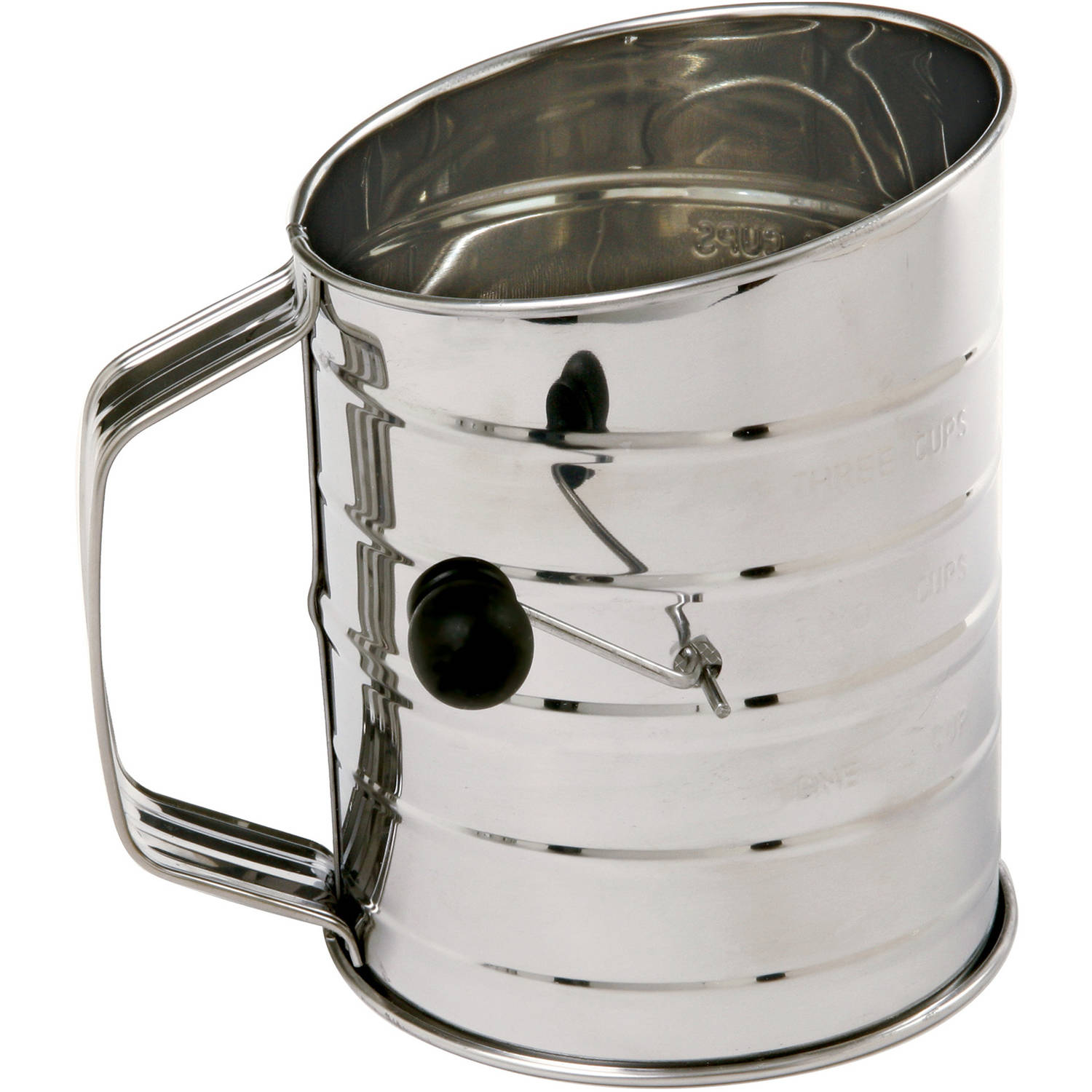 Norpro 3-Cup Stainless Steel Flour Sifter