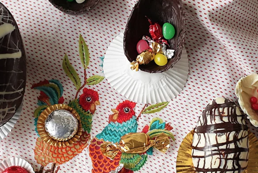 Marbled Chocolate Eggs