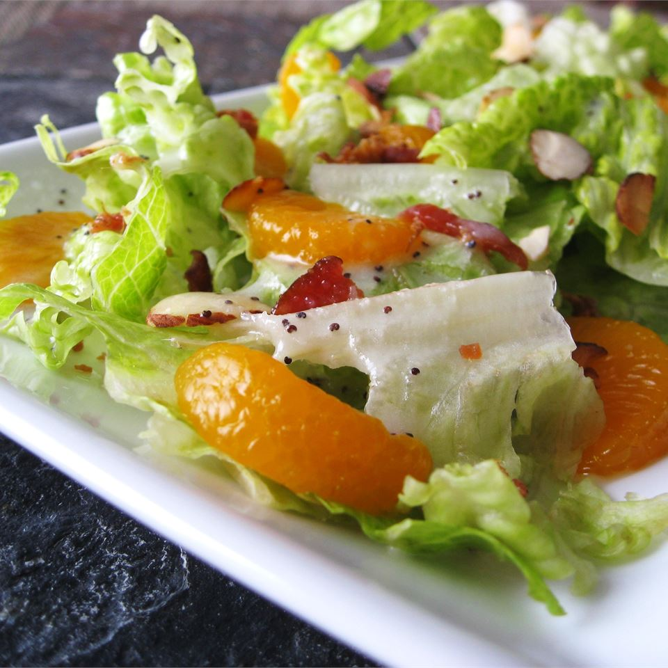 romaine mandarin orange salad