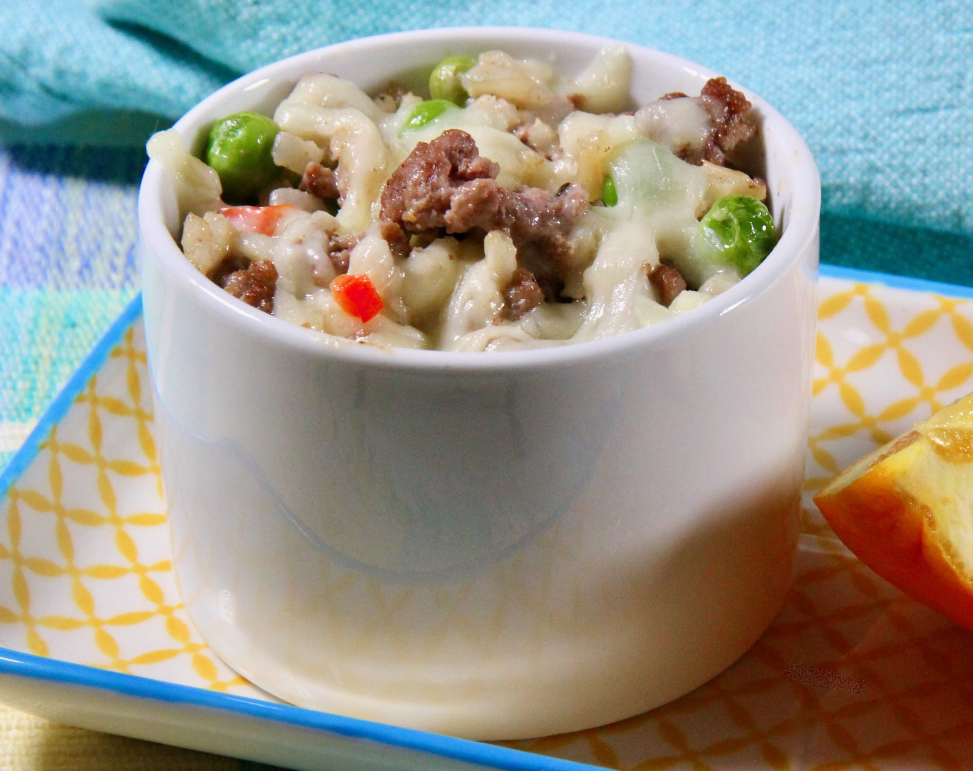 Ground Beef Casserole with Brown Rice