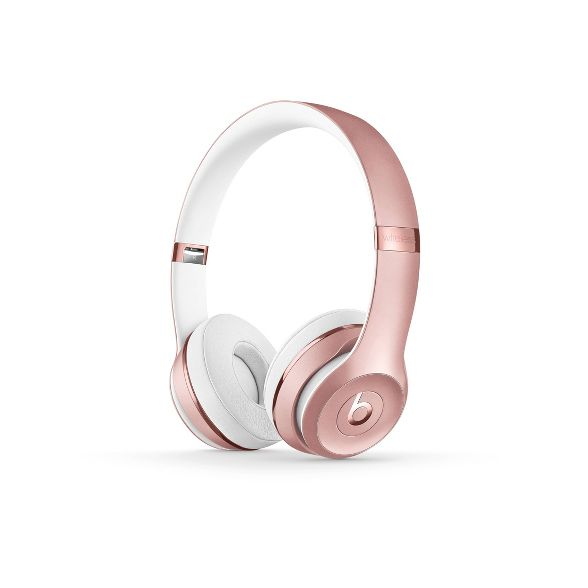 Rose Gold over the ear headphones