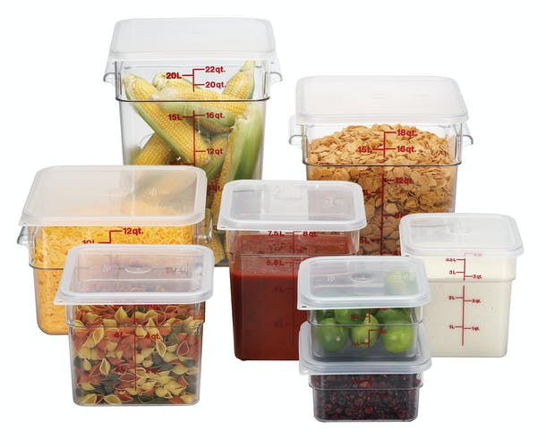 Cambro food containers
