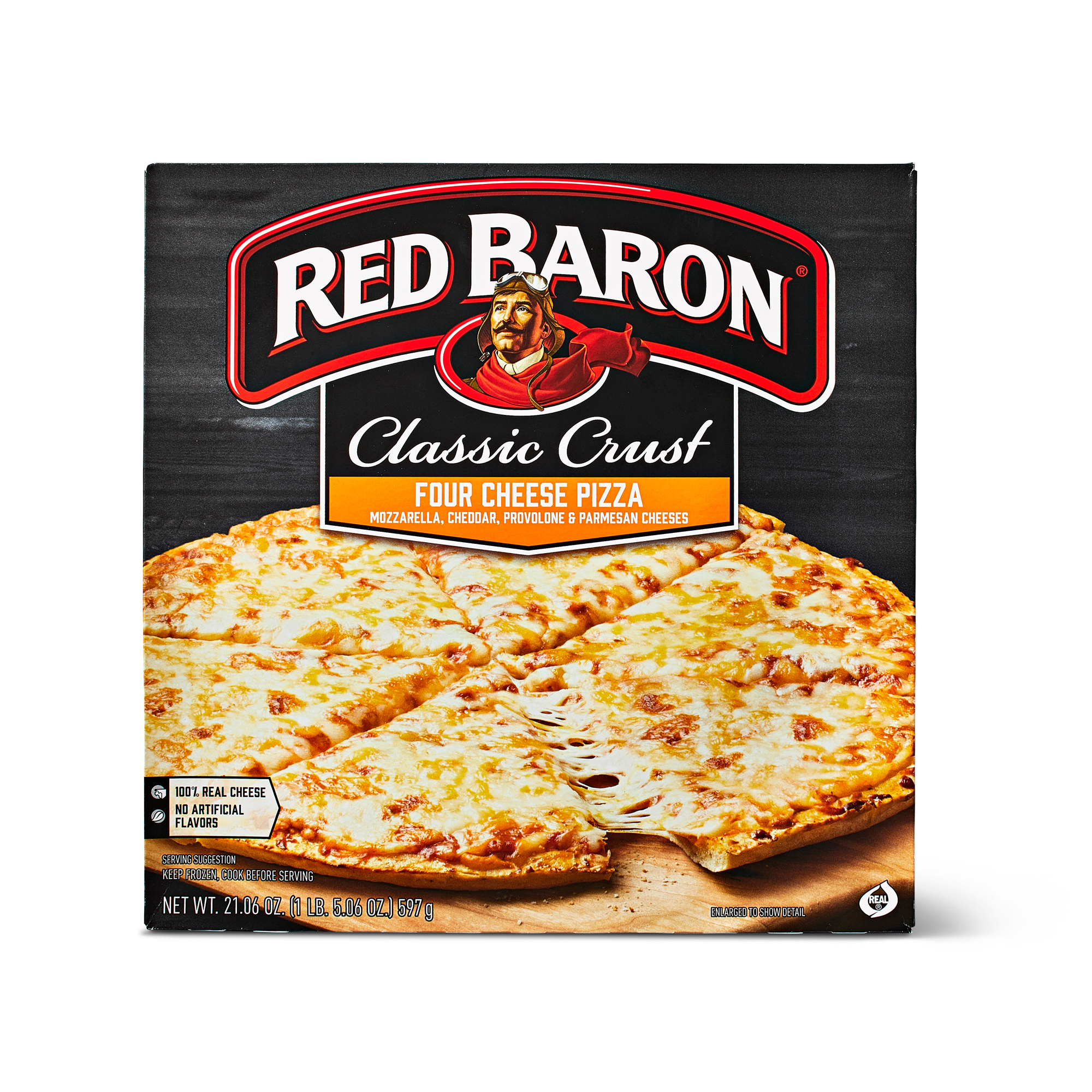 Red Baron frozen pizza