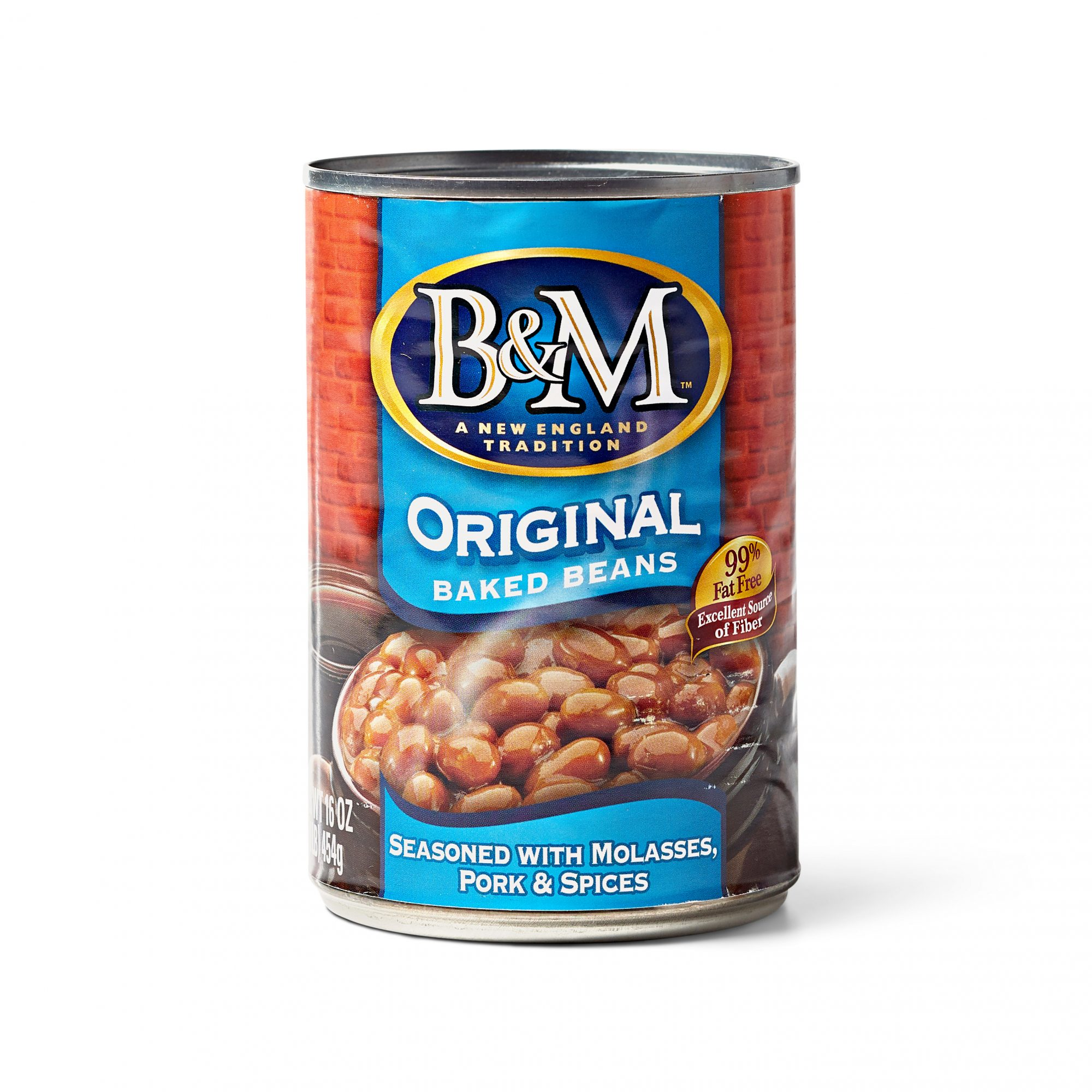 can of B&M beans