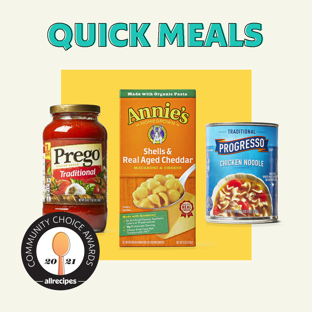community choice awards favorite quick meals