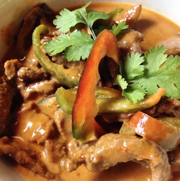 Chuck and Heather's Panang Curry