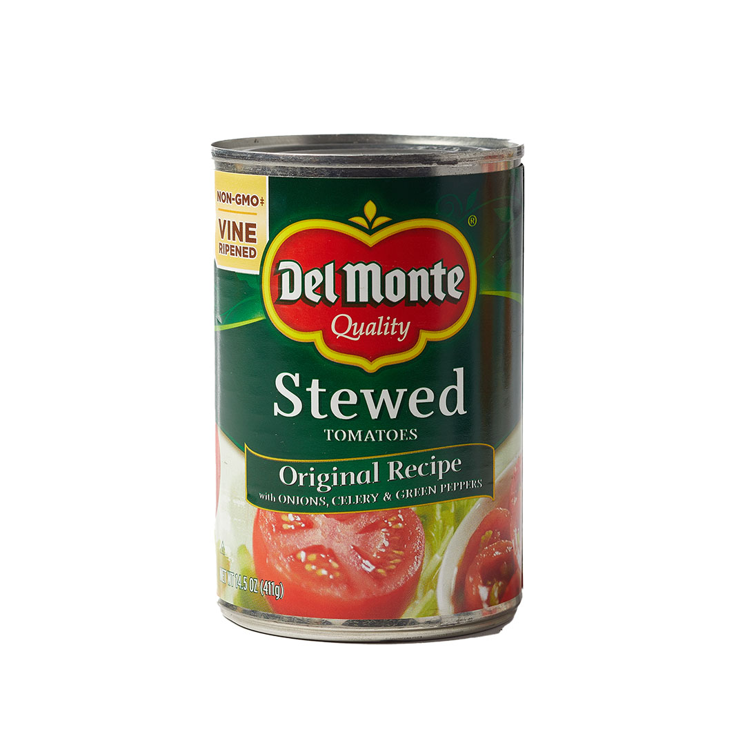 Del Monte canned tomatoes stewed